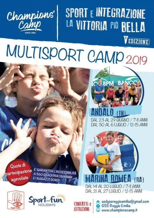 multisport camp2019